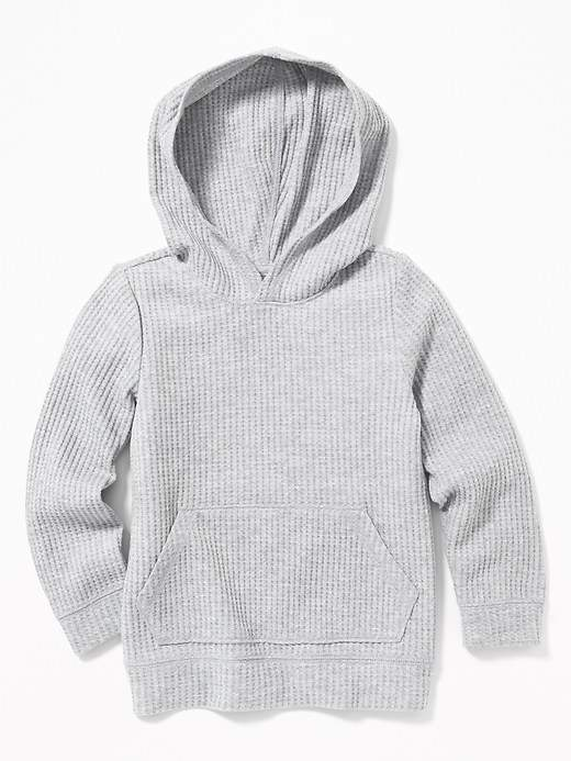 Thermal Pullover Hoodie for Toddler Boys