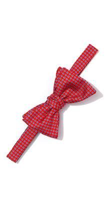 J.Mclaughlin Italian Silk Bowtie in Mini Dots