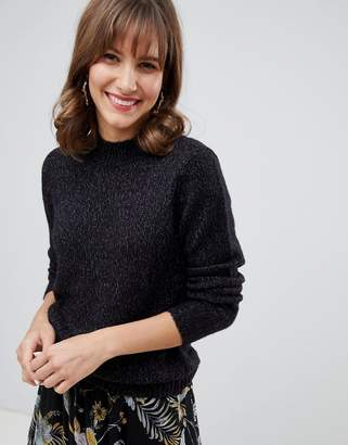 Vero Moda high neck knitted sweater