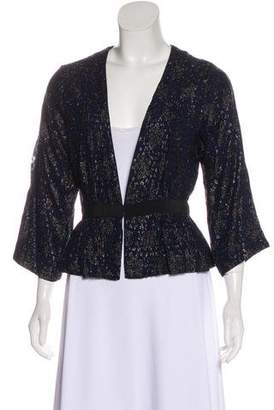 Ganni Jacquard Cocktail Jacket