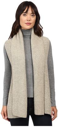 Christin Michaels Willow Knit Vest Cardigan $84 thestylecure.com
