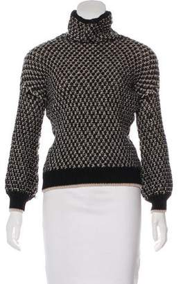 Trina Turk Merino Wool Turtleneck Sweater