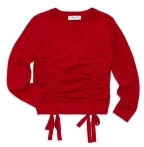 Milly Minis Girl's Tunnel Sweater
