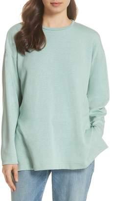 Eileen Fisher Organic Cotton Blend Top