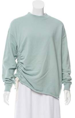 AllSaints Ruched Casual Sweatshirt w/ Tags