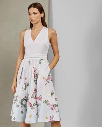 a6b7e6548b5 Ted Baker REYYNE Full skirted cotton dress
