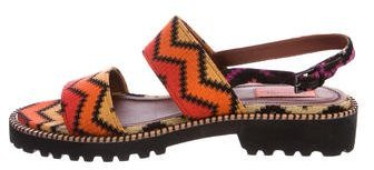 Missoni Raschel Woven Sandals w/ Tags