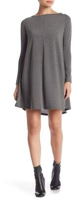 Couture Go Long Sleeve Boatneck Dress