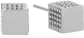 Eddie Borgo Pave Cube Stud Earrings