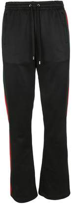 Gucci Technical Jersey Flare Trousers