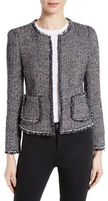 Women's Rebecca Taylor Confetti Tweed Jacket $450 thestylecure.com