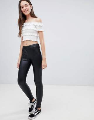 JDY Gladys Faux Leather Leggings