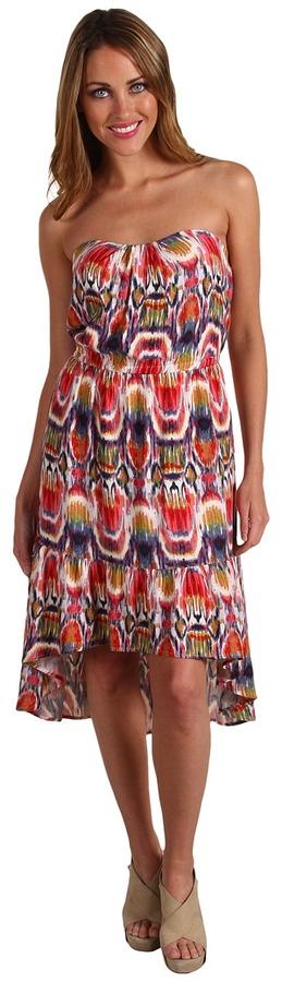 BB Dakota Kylene Strapless Dress (Bubblegum) - Apparel