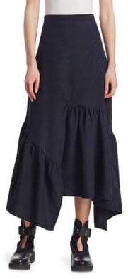 3.1 Phillip Lim Asymmetric Midi Skirt