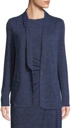 Nic+Zoe Every Occasion Melange Knit Blazer Jacket, Plus Size