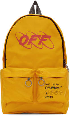 Off-White Off White Yellow Industrial Backpack