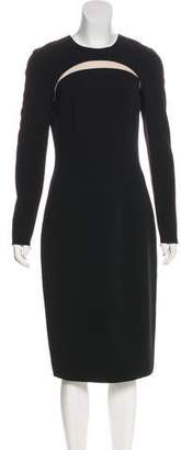 Michael Kors Virgin Wool Evening Dress