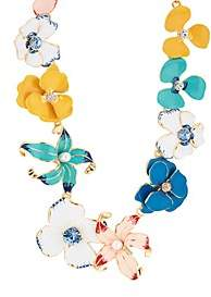 Kenneth Jay Lane WOMEN'S FLOWER NECKLACE
