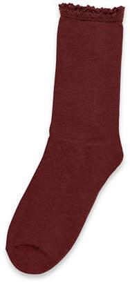 Hue Cotton Blend Mid-Calf Socks