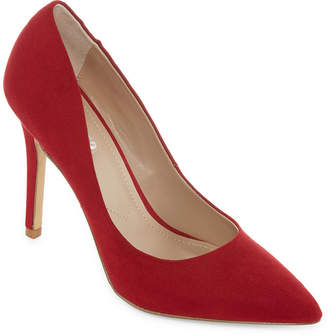 STYLE CHARLES Style Charles Womens Pio Pointed Toe Stiletto Heel Slip-on Pumps