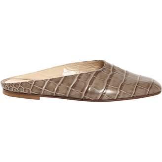 Maryam Nassir Zadeh Leather Flats