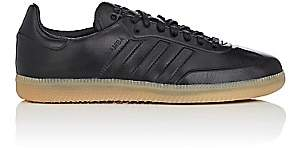 adidas Women's BNY Sole Series: Women's Samba Leather Sneakers - Black