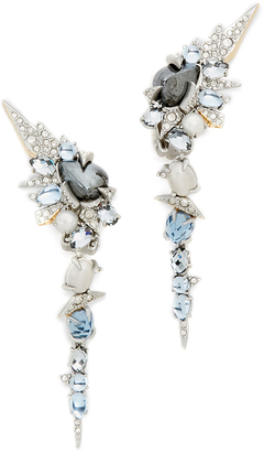 Alexis Bittar Crystal Mosaic Lace Dangling Earrings $395 thestylecure.com