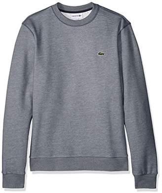 Lacoste Men's Long Sleeve Mille-Raye Crew Neck Sweatshirt