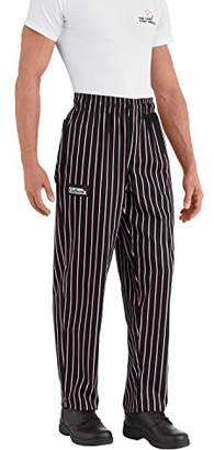 Chefwear Men's Ultimate Cotton Baggy Chef Pants Big
