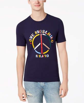 Love Moschino Men's Peace T-Shirt