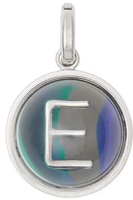 Burberry Marbled Resin 'E' Alphabet Charm