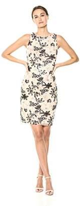 Calvin Klein Women's Sleeveless Sequin Sheath Dress