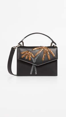 Les Petits Joueurs Palm Tree Satchel Bag
