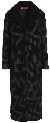 Missoni Reversible Shell-Appliquéd Shearling Coat