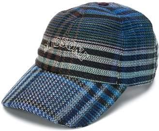 Missoni embroidered logo checkered baseball hat
