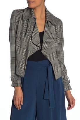 Anne Klein Plaid Jacket