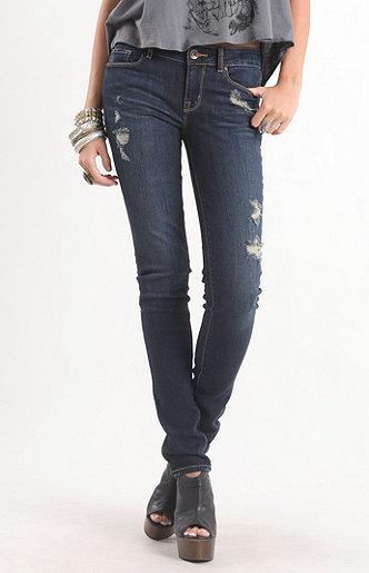 Bullhead Denim Co Coppola Dark Skinny Jeans