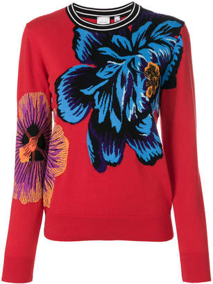 Paul Smith Ocean intarsia sweater