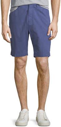 Neiman Marcus The Good Man Brand Men's Micro-Pattern Jacquard Chino Shorts