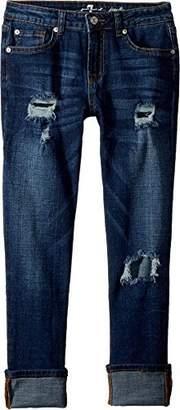 7 For All Mankind Kids Girl's Josephina Boyfriend Jeans in (Big Kids) Big Kids