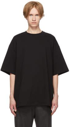 Lanvin Black Anti-Logo T-Shirt