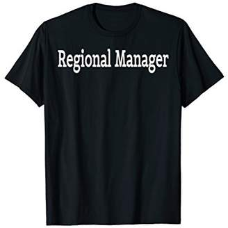 Regional Manager Office Funny Tshirt / Funny Office shirt