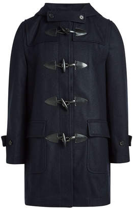 Comme des Garcons Wool Duffle Coat with Rabbit Ears