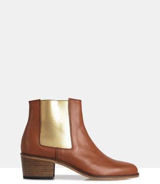 Jerry Leather Chelsea Boots