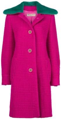 Emilio Pucci colour-block fitted coat
