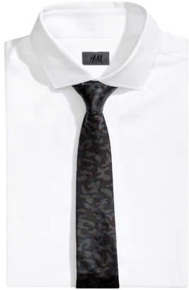 H&M Silk Tie - Black