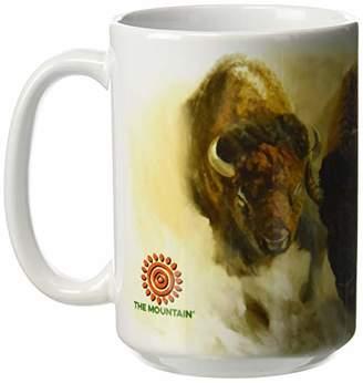 The Mountain Men's Bison Herd Coffe Mug