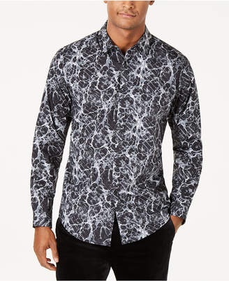 INC International Concepts I.n.c. Men Paint Splatter Shirt