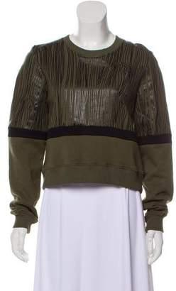 Markus Lupfer Printed Long Sleeve Sweatshirt