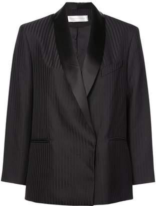Victoria Beckham Victoria boxy striped blazer